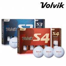 볼빅 정품/ 투어 S3/S4 골프볼(3피스/4피스)