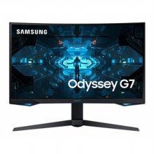 삼성모니터 오디세이 Odyssey G7 C32G74T 게이밍 모니터 / 32 80cm QHD 240Hz 최고주사율! HDR 게이밍모니터