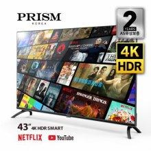 하이마트 배송! 109cm 스마트 4K HDR TV / PTI43UL [스탠드 자가설치]