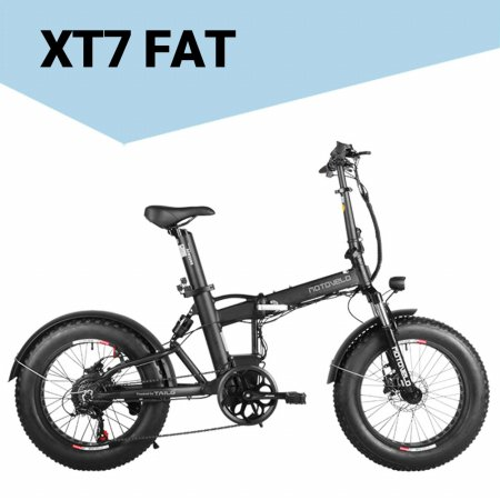 XT7 FAT 전기자전거 모터 350W 배터리 17.5Ah [블랙/PAS]