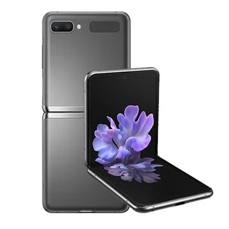 [자급제] 갤럭시Z플립 5G ,미스틱그레이, 256GB, SM-F707NZAAKOO