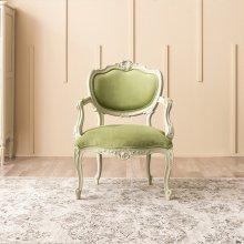 리체갤러리 빈티지엔틱 아트라제 카라 1인용 의자