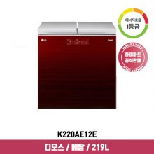 디오스 뚜껑형 김치냉장고 K220AE12E (219L, 아리아 와인, 1등급)