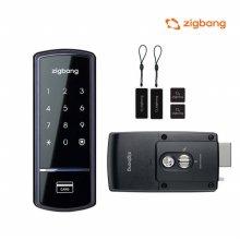 [셀프시공]삼성 SHS-1321 디지털도어락 번호키 카드키
