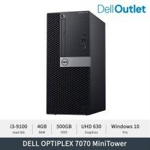 [델 공식 리퍼] 옵티플렉스 7070 MT / i3-9100 / 4GB / 500GB