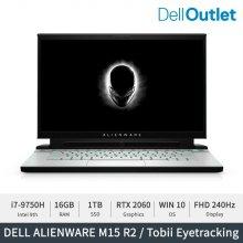 [공식리퍼] 에일리언웨어 노트북 M15 R2 / i7-9750H / RTX 2060 OC / SSD