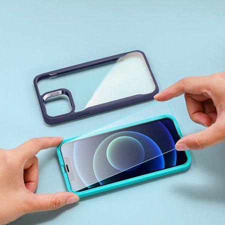 ESR 아이폰12/12pro 가이드 풀커버 강화유리 2팩