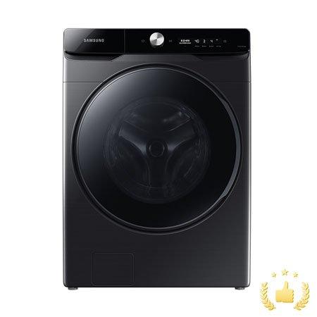 드럼 세탁기 WF24T8500KV (24kg, 심플컨트롤, 버블워시, 무세제통세척, 삶음세탁, AI맞춤세탁, 10년무상보증, 블랙케비어)