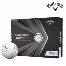 캘러웨이 정품 크롬소프트 X 20 트리플 트랙 4피스 골프공 골프볼