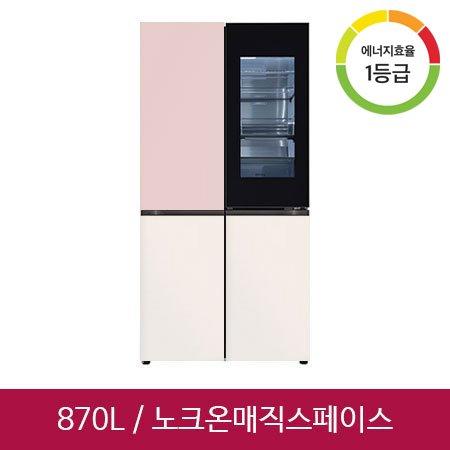 오브제컬렉션 4도어 냉장고 M870GPB451 (870L)