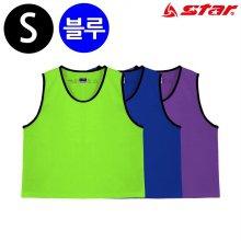 스타스포츠 팀조끼 (Small) (파랑) (SW4003J)