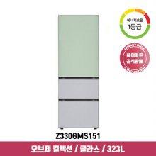 오브제 컬렉션 김치냉장고 Z330GMS151 (323L / 민트+실버 / 1등급)