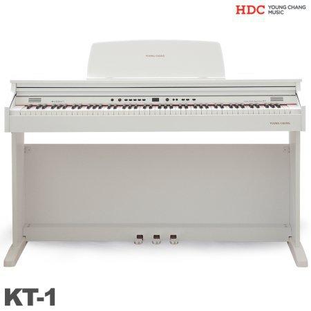 [히든특가][10/22 순차배송]영창 디지털피아노 KT-1/ KT1(화이트)전자피아노 [착불 40,000원]
