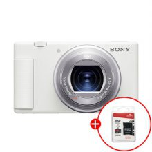 [32G SD카드증정/정품등록이벤트]컴팩트형 브이로그 카메라 32기가 패키지[화이트][ZV-1]