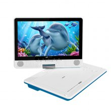 휴대용 DVD플레이어 HDMI케이블 포함[블루][PD-3200HD]