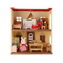 EF-30 초콜릿 토끼의 빨간지붕이층집 스타터가구세트
