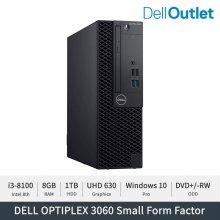 [델 공식 리퍼] 옵티플렉스 3060 SFF/i3-8100/8GB/1TB/WIN10Pro