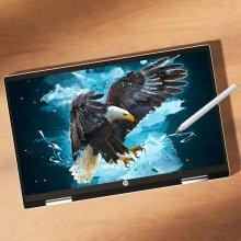 파빌리온 x360 14-dw1049TU 태블릿 노트북/인텔 11세대 i5/8GB/256GB/win10/14inch(forest teal)