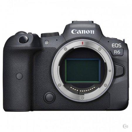 캐논 EOS-R6 풀 프레임 미러리스 카메라 바디[블랙][본체/렌즈미포함]