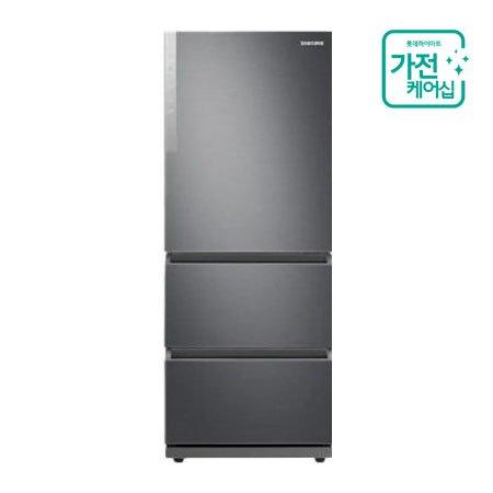 [AS연장 + 가전케어2회] 김치냉장고 RQ33T7102S9 (328L / 스탠드형) REFINED INOX