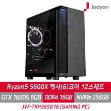 게이밍PC JYF-TRH56SG16  라이젠5 5600X/GTX1660S/RAM 16G/SSD 256G/프리도스