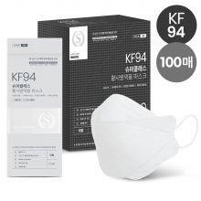 슈퍼클래스 뉴크린웰 KF94 마스크 대형 화이트 100매