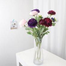 조화 고속터미널꽃시장 라넌큘러스 52cm 시들지않는꽃