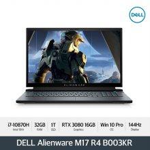 Alienware M17 R4 B003KR 노트북 [i7-10870H/32GB/1TB/FHD(144Hz)/RTX 3080/ WIN10 P]