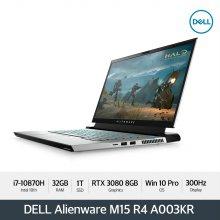 Alienware M15 R4 A003KR 노트북 [i7-10870H/32GB/1TB/FHD(300Hz)/RTX 3080/ WIN10 Pro]