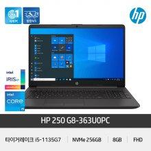 250 G8-363U0PC 노트북 인텔11세대 i5-1135G7/8GB/256GB