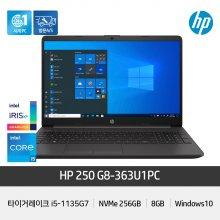250 G8-363U1PC 노트북 인텔11세대 i5/8GB/NVMe256G/Win10