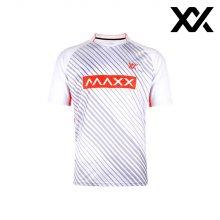 MAXX 배드민턴 남자 반팔 트레이닝 티셔츠 화이트4