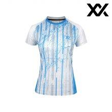 MAXX 배드민턴 여자 반팔 트레이닝 티셔츠 화이트1