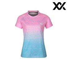 MAXX 배드민턴 여자 반팔 트레이닝 티셔츠 핑크