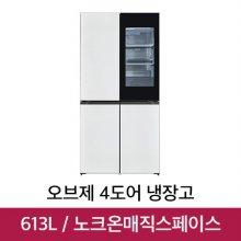 오브제컬렉션 4도어 냉장고 M620MWW351 (613L)