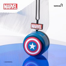MRVL-RNF-A-CP 마블 캡틴아메리카 휴대용 목걸이 선풍기