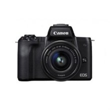 EOS-M50 미러리스 카메라 렌즈키트[블랙][본체+15-45mm IS STM]