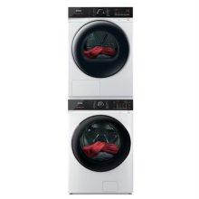 드럼 세탁기(23kg)+건조기(17kg) 세트 TMWE230-KVK+HGXM170-KVK (병렬설치, 새틴 화이트)