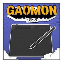 가오몬 드로잉 패드 펜타블렛  패드형 그래픽 태블릿[S620]