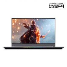 한성컴퓨터 TFG5577XG 노트북 세잔 R7 5800H 16GB 500GB RTX3070 프리도스 15inch (실버)
