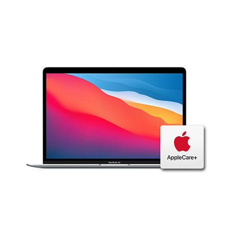 [Applecare+] 맥북에어 13형 M1 GPU 7코어  RAM 8GB SSD 256GB 실버 / Apple 노트북