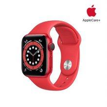 [Applecare+] 애플워치 6 GPS+Cellular 40mm 프로덕트레드 알루미늄 케이스 프로덕트레드스포츠밴드