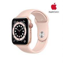 [Applecare+] 애플워치 6 GPS+Cellular 44mm 골드 알루미늄 케이스 핑크샌드스포츠밴드