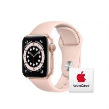 [Applecare+] 애플워치 6 GPS 40mm 골드 알루미늄 케이스 핑크샌드스포츠밴드