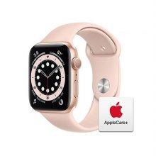 [Applecare+] 애플워치 6 GPS 44mm 골드 알루미늄 케이스 핑크샌드스포츠밴드