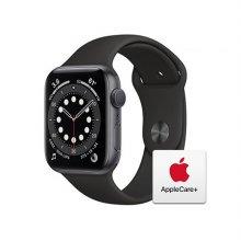 [Applecare+] 애플워치 6 GPS 44mm 스페이스그레이 알루미늄 케이스 블랙스포츠밴드