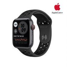 [Applecare+] 애플워치 SE Nike GPS+Cellular 44mm 스페이스그레이 알루미늄 케이스 안드라사이트블랙나이키스포츠밴드