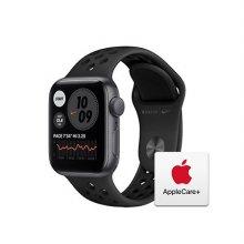 [Applecare+] 애플워치 SE Nike GPS 40mm 스페이스그레이 알루미늄 케이스 안드라사이트블랙나이키스포츠밴드