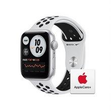 [Applecare+] 애플워치 SE Nike GPS 44mm 실버 알루미늄 케이스 퓨어플래티넘블랙나이키스포츠밴드