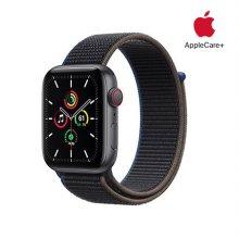 [Applecare+] 애플워치 SE GPS+Cellular 44mm 스페이스그레이 알루미늄 케이스 차콜스포츠루프